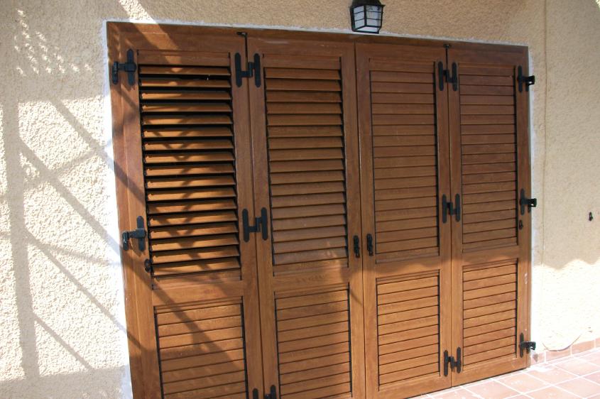 Ventanas y puertas mallorquinas fijas ventana 10 - Puertas mallorquinas ...