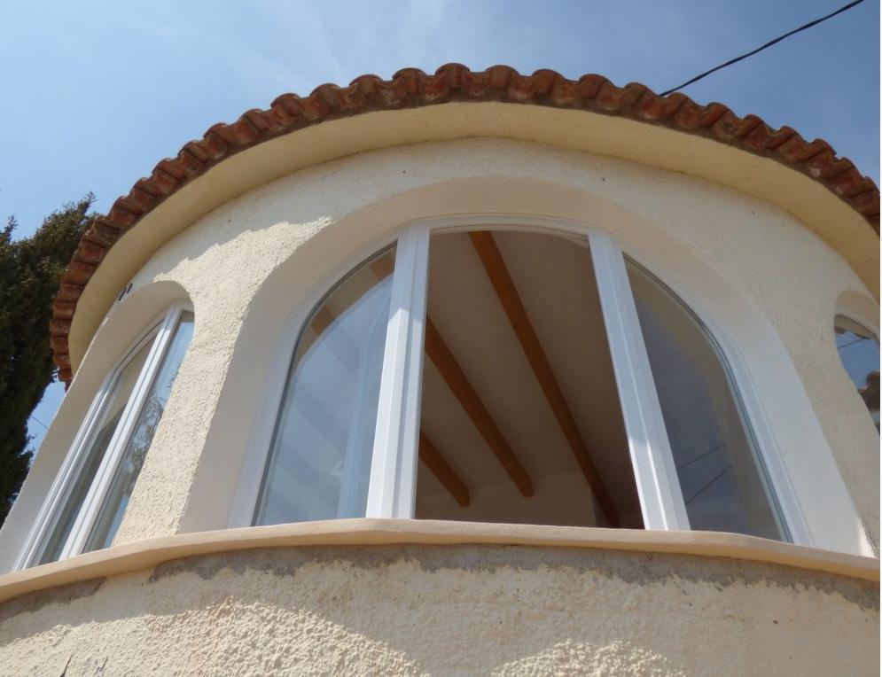 ¿Por qué elegir ventanas curvas?